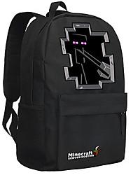 24L Minecraft backpack Enderman day pack New School bag Nylon rucksack Game daypack 051
