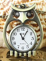 Bărbați pentru Doamne Unisex Ceas de buzunar Ceas colier Quartz Aliaj Bandă Bronz