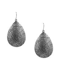Fashion Women Vintage Engraved Metal Drop Earrings