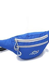 Unisex 's Nylon Sports Sports & Leisure Bag - Pink/Blue/Green/Orange/Brown/Red/Gray/Black