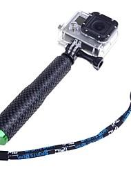 18cm-48cm prolongation de poche réglable pôle monopode pour GoPro HD HERO2 hero1 hero3 hero3 + hero4 caméra vert