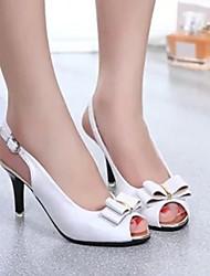 Women's Shoes Blue/Multi-color/Pink/White Stiletto Heel Pumps/Heels (Rubber)