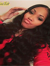Brazilian Deep Wave Human Hair Lace Front Wigs With Baby Hair For Black Women Unprocessed Human Hair Wigs