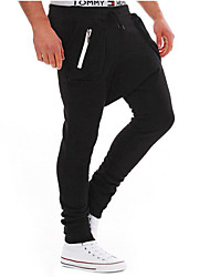 Men's han edition cultivate one's morality pants of low tide product recreational sports pants