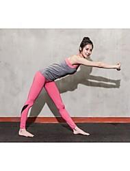 trajes sin mangas de la yoga de las mujeres de otros transpirable / secado rápido / portátil / absorción / compresión gris / aptitud s / m