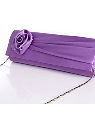 Women Silk Formal / Event/Party / Wedding / Office & Career Evening Bag Purple / Red / Gray / Black