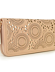 WeiYi Women's Fashion Personality Wallet Hollow Out Design
