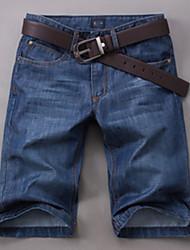 Men's Casual/Work/Sport Print Short Pant/Jeans (Cotton)