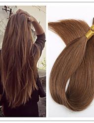 """3pcs / lot 1g / s 100g / pc 18 """"-28"""" droit brésilien bâton hair / vierge pré-collé i basculer extension de cheveux en stock"""