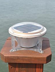 Jardin de lumière chemin quai lampe de paysage pont de la cour de pelouse d'énergie solaire 5 LED d'extérieur blanc