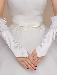 Nylon Elbow Length Wedding/Party Glove