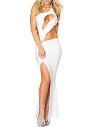 Women's Best Assets Cut Out Maxi Jersey Dress