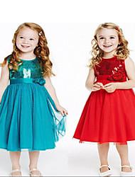 OULALA     Kid's Sexy/Cute Dress (Cotton Blend)
