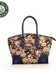 DAKA BEAR® Designer Tote Bag Beach Bag Simplicity Handbag
