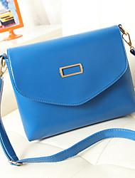 handcee® venta caliente mujer sencilla diseño de la bolsa de la PU del hombro