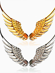 New Universal Vehicle Car Angel's Wings 3D Car Emblem Stick Decal