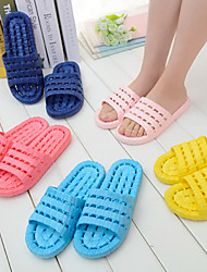 Cool Bathroom Hollow floor Indoor Massage Couple Slippers Flip Flops