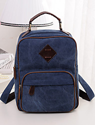 DROEA Dust Proof/Wearable/Multifunctional Daypack Cycling 2 L Black/Blue/Brown Canvas