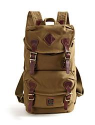 Backpack canvas bag man bag female leather  men bag travel bag fashion casual college computer  bag