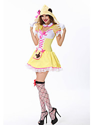 Zentai - Feminino - de Halloween/Carnaval/Oktoberfest -Fantasias Princesa/Fantasias Animal/Fantasias de Filme e Tema de