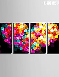 coração batendo pintura decorativa emoldurada tela de definição de impressão de 4