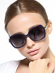 Sunglasses Women's Classic / Elegant / Retro/Vintage / Modern / Fashion / Polarized Oversized Black / Coffee / Beige / Gray Sunglasses