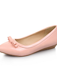Women's Shoes Flat Heel Pointed Toe/Closed Toe Flats Office & Career/Dress/Casual Black/Green/Pink/White/Coral