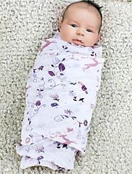 Couverture - 120cmx120cm - en 100% Coton - Violet