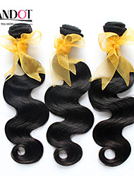 "4 Pcs Lot 8""-30""Malaysian Unprocessed Virgin Remy Hair Body Wave Natural Black Human Hair Weave Wavy Bundles Tangle Free"