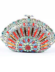 Ladies Fashion Bag Clutch Crystal Evening