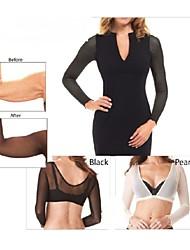 Shapewear Shaping Tops Nylon/Stretch Yarn 1 Piece Black/Nude