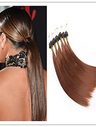 """atacado 18 """"-28"""" virgem extensão do cabelo cabelo anel de micro fusão da queratina / loop 1g / s 100g / pc 1pc / lot em estoque"""