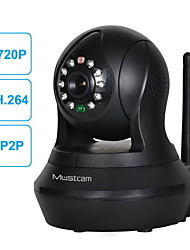 H808P 720P Wireless Pan/Tilt IP Camera with Motion Sensor, Mic/Speaker, Two-way Audio, IR-Cut etc