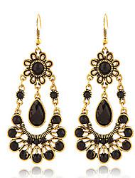 Earring Drop Earrings Jewelry Women Alloy / Gold Plated 2pcs Gold