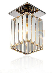 Flush Mount Light Crystal Electroplated Simple Modern