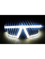 novos fasion pessoas para encenar óculos essenciais traje discoteca para bar levou óculos encenar óculos luminosos