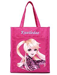 oxford saco de pano cliente ombro das mulheres - rosa / roxo / vermelho