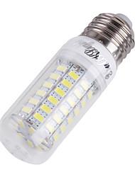 youoklight® E14 / E27 18w 1700lm cri>80 3000K / 6000K 69 * smd5730 led valo maissi lamppu (110-120v / 220-240V)