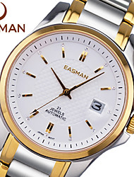 EASMAN® Watch Men Gold New Brand 21 Jewel Automatic Mechanical Watch Japan Citize Wristwatch Fashion Men Watch Cool Watch Unique Watch
