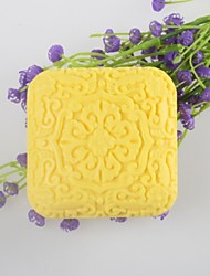 Square Shaped Soap Mold Mooncake Mould Fondant Cake Chocolate Silicone Mold, Decoration Tools Bakeware
