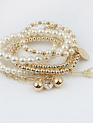 Kubao High Quality Popular Fashional Multilayer Pearl Bracelet