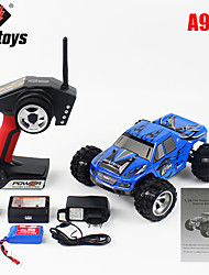 Buggy WLToys A979 1:18 Brushless Electric RC Car 45KM/H 2.4G Blue Ready-To-GoRemote Control Car / Remote Controller/Transmitter / Battery