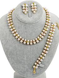 Donna - Vintage / Da serata / Casual - Lega / Perla / Perla di imitazione DI Altro