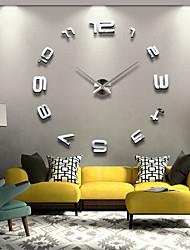 Horloge murale - Rond/Nouveauté - Moderne/Contemporain/Casual/Office/Business - en Acrylique/Métal/Inox