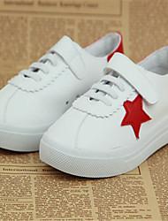 Zapatos de bebé - Sneakers a la Moda - Casual - Semicuero - Negro / Rojo