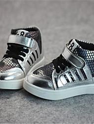 Zapatos de bebé - Sneakers a la Moda - Casual - Semicuero - Plata / Oro