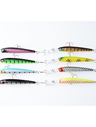 """8pcs pcs kleiner Fisch Zufällige Farben 6.8g g/1/4 Unze,100 mm/4"""" Zoll,Fester KunststoffSeefischerei / Fischen im Süßwasser /"""