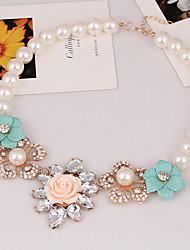 Super fairy flower necklace restoring ancient ways