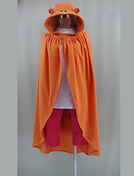 Inspired by Himouto Cosplay Video Game Cosplay Costumes Cosplay Suits Solid Orange Long Sleeve Cloak / Shirt / Pants
