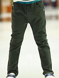 Pantaloni Maschile Inverno/Autunno Cotone
